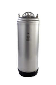 5 Gallon Ball Lock Keg Single Handle - New With Cosmetic Blemishes