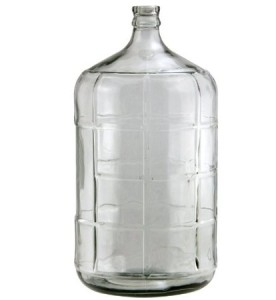 Kegco KC FP-CB-06 Glass Carboy, 6 gallon, Clear