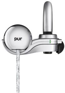 PUR 3-Stage Horizontal Faucet Mount Chrome FM-9400B