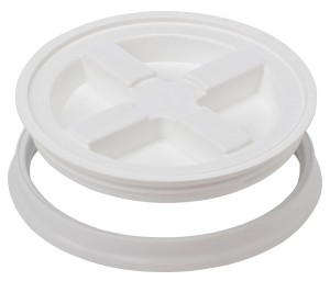 The Gamma Seal Lid, White