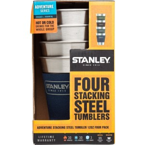 Stanley Stacking Steel Tumbler 12 oz. Four Pack