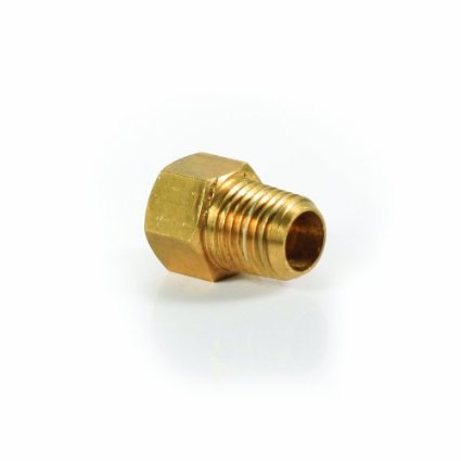 "Camco 59953 Propane Fitting - 1/4"" Male NPT x 1/4"" Female Inverted Flare"