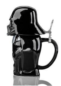 Star Wars Darth Vader Stein - Collectible 22oz Ceramic Mug with Metal Hinge