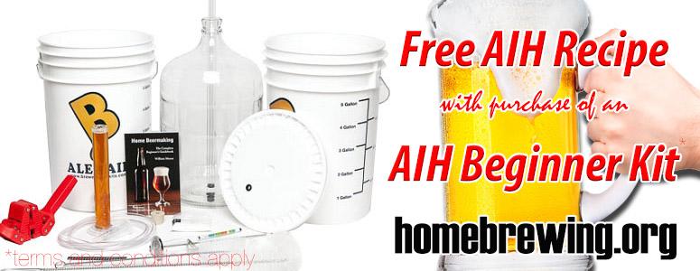 Free Recipe With Beginner Kit