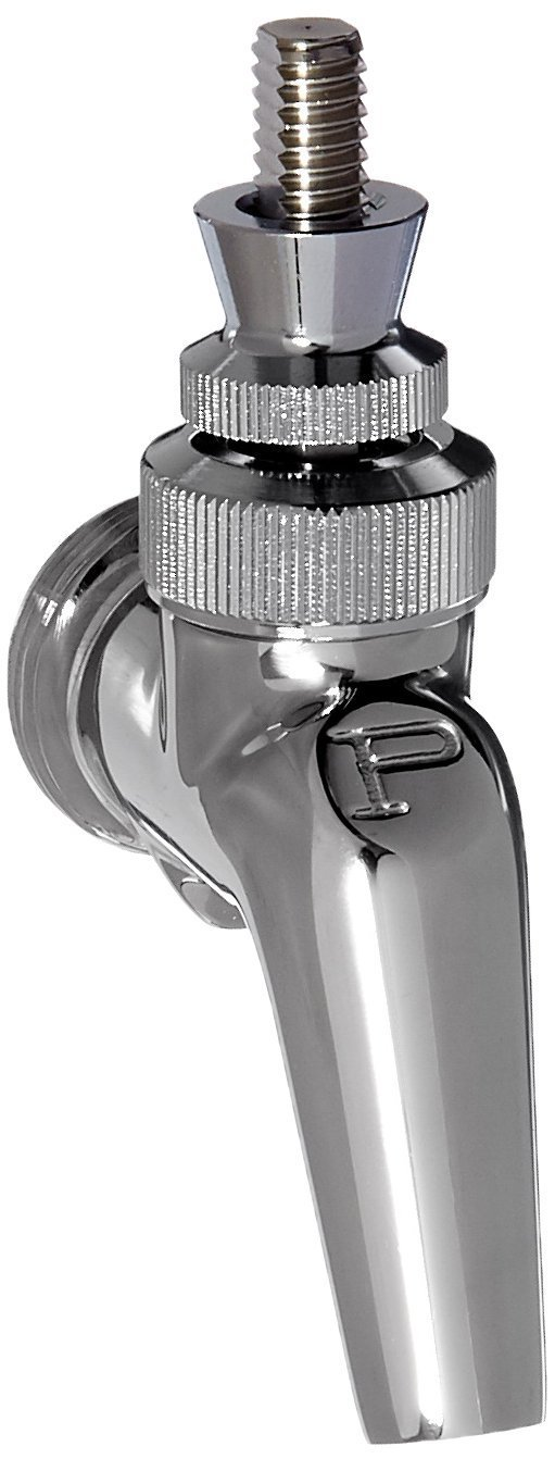 2 Pack of Stainless Steel Perlick 630SS Draft Beer Faucet