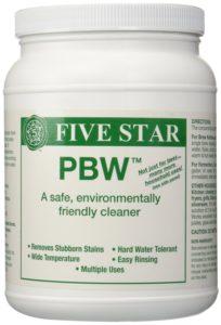 Five Star PBW Cleaner 4 Pound Jar