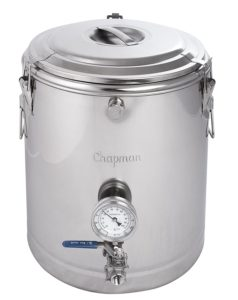 Chapman 10 Gallon ThermoBarrel Stainless Steel Mash Tun