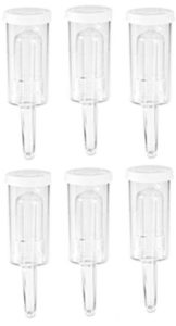 3 Piece Plastic Airlock (Sold in sets of 6)