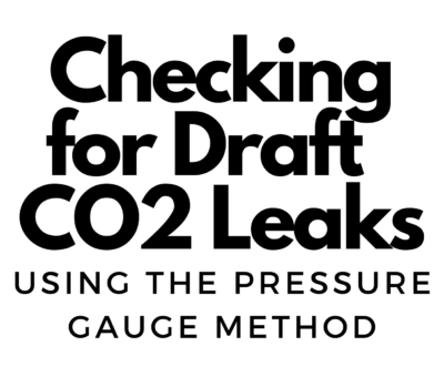check for co2 leaks