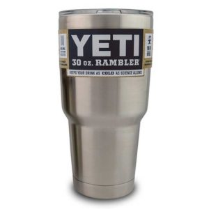 Yeti Coolers 30 oz. Yeti Rambler 30oz w/ Lid Stainless Steel Tumbler Insulated