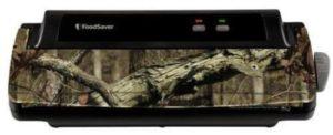 FoodSaver Vacuum Sealing System FM1000 Food Sealer, Camouflage, w/ Starter Kit