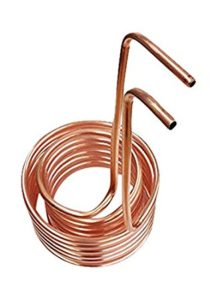 "Click to open expanded view Quick Chill Double Coil Immersion Chiller with 3/8"" Tubing, Copper"
