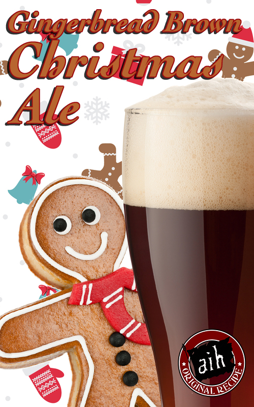 Gingerbread Brown Christmas Ale Homebrew Recipe Kits On