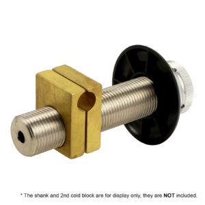Brass Draft Beer Shank Cold Block for Glycol Chilling Line