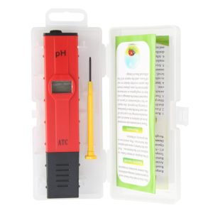 SinoWare PH Tester Digital PH Tester Water Red