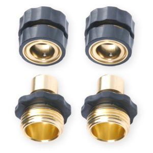 Camco Quick Hose Connect Brass Value Pack