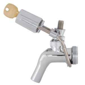 Perlick Wrap Around Draft Beer Faucet Lock - Kegerator Bar Security - All Models