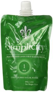 Simplicity Belgian Candi Syrup Clear 1 lb.