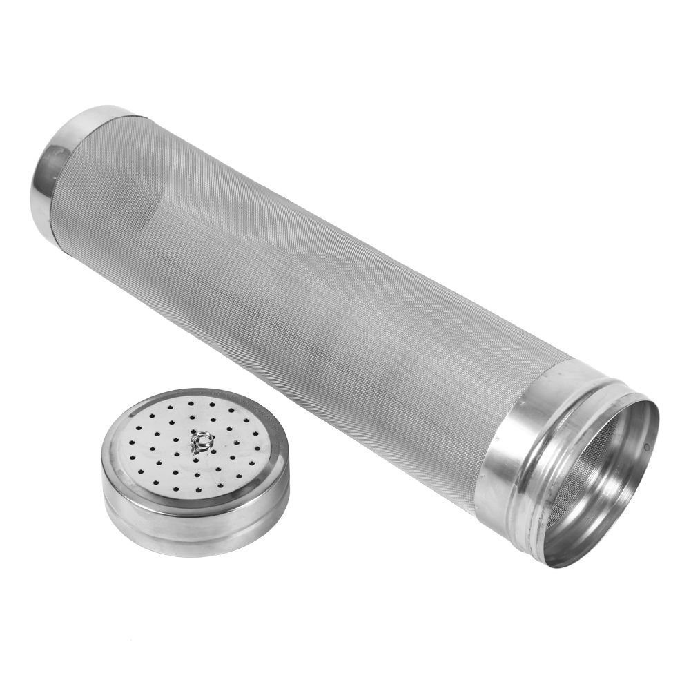 Portable Stainless Steel Homebrew Beer Dry Hopper Spider Strainer Wine Coffee Hops Filter Safety
