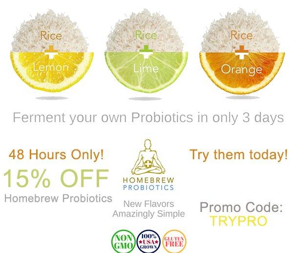 homebrew probiotics