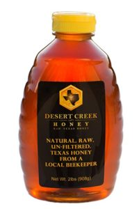 Desert Creek Honey Raw, Unfiltered, Unpasteurized Texas Honey, 2 lb., 32 oz.