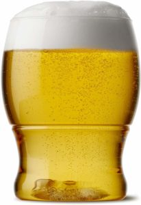 TOSSWARE 12oz Pint Jr- Recyclable Beer Plastic Cup - Set of 48- Stemless, Shatterproof and Bpa-Free Beer Glasses