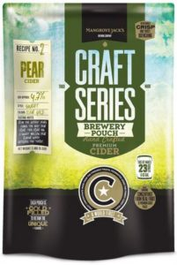 Pear Cider Pouch Mangrove Jack's Craft Series