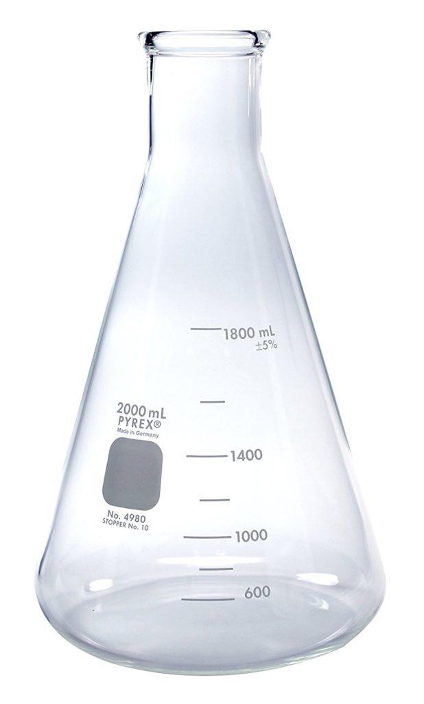 pyrex erlenmeyer flask