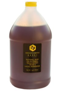 Desert Creek Honey 1 Gallon (12 lbs) Raw, Unfiltered, Unpasteurized Texas Honey