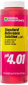 General Hydroponics PH 4.01 Calibration Solution for Gardening, 8-Ounce