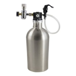 Keg King Ultimate Draft Growler - Complete with CO2