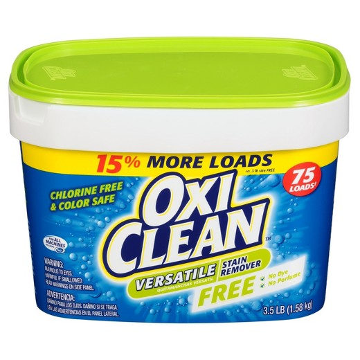 OxiClean Versatile Stain Remover Free, 3.5lb