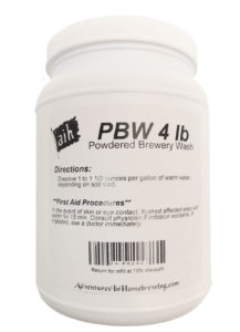 PBW - Powdered Brewery Wash 4lbs
