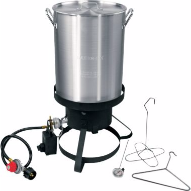 Cajun Injector 30-qt. Propane Turkey Fryer
