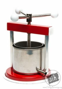 Fruit Press 1.3 L Aluminum / Stainless Steel