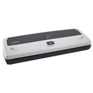 Seal-a-Meal Manual Vacuum Sealer with compact design, hands-free, seal indicator lights, FSSMSL0160-000
