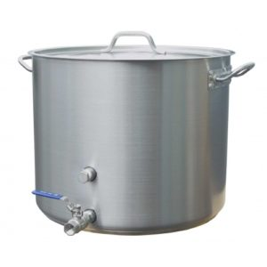 Heavy Duty Stainless Steel Brewing Kettle - 15 gal.