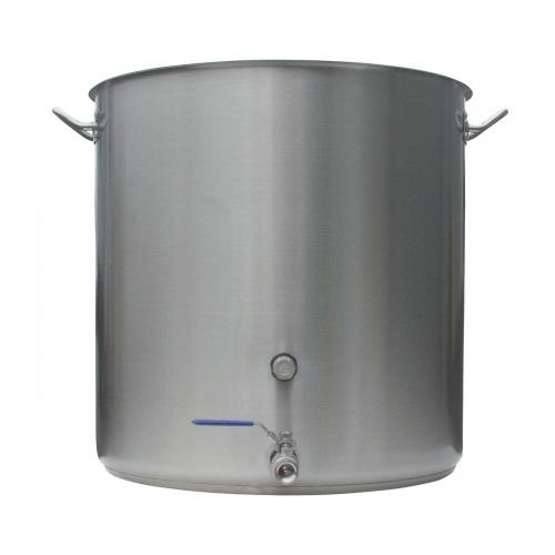 Heavy Duty Stainless Steel Brewing Kettle - 26 gal.