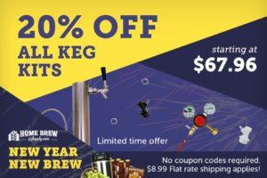 kegging kit sale