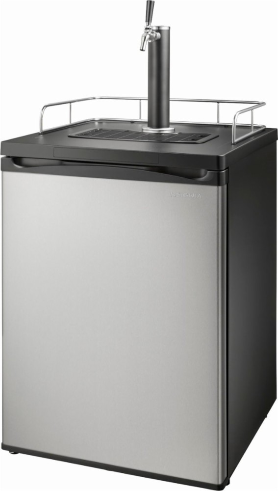 insignia stainless kegerator