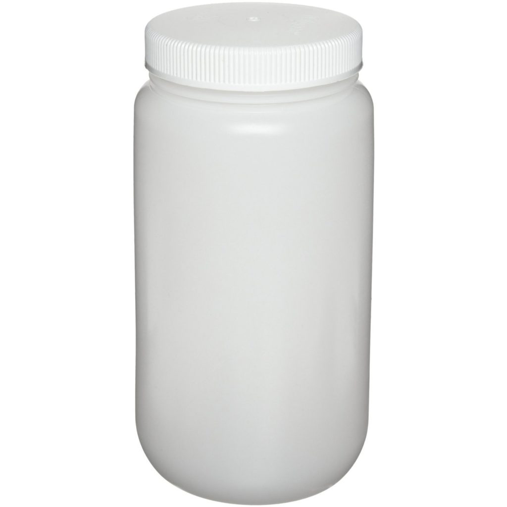 Nalgene 2105-0016 Wide-Mouth Bottle, Polypropylene, 500mL (Pack of 12)
