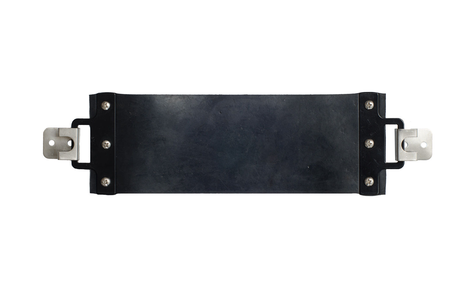 CO2 Tank Holder Strap with 2 Anchors Black Rubber Belt Great for Kegerators!