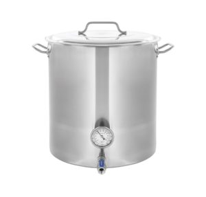 CONCORD Stainless Steel Home Brew Kettle Stock Pot (Weldless Fittings)