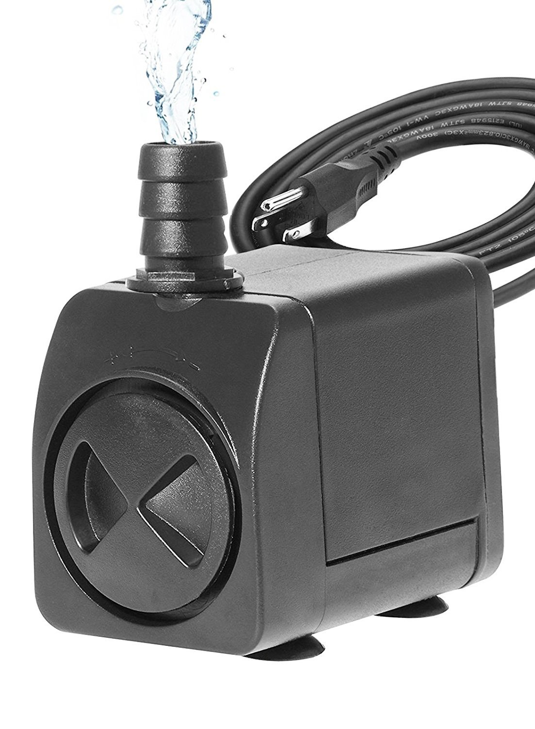 Esky 260 GPH Submersible Pump with Adjustable Flow Rate for Aquariums Tanks Ponds and Fountains
