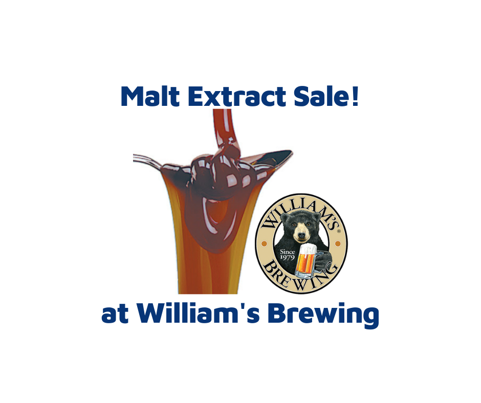 malt extract sale williamsbrweing.com