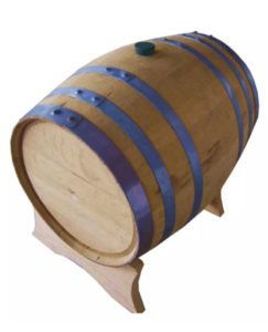 5 Gallon Whiskey Barrel - Balcones Recently Dumped - Beer Wine Moonshine Cider