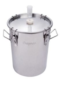 14 Gallon Chapman Stainless Fermenter Boil Kettle Portless Beer Wine Moonshine