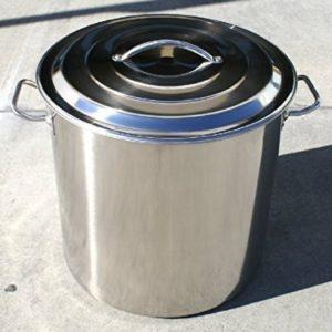 60 Quart Economy Stainless Steel Kettle