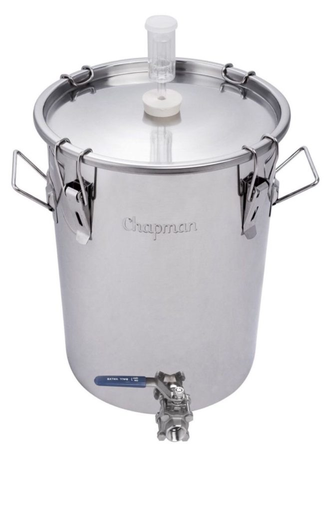 7 Gallon Chapman Stainless Fermenter Boil Kettle Ported Homebrew Moonshine Beer