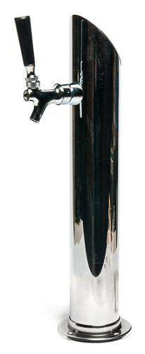Taper Cut Draft Tower - Single Faucet